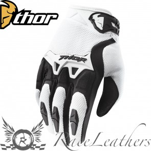 Thor Spectrum Youth Gloves S15 White