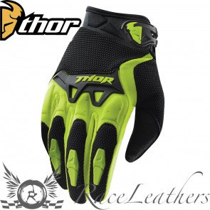 Thor Spectrum Youth Gloves S15 Green