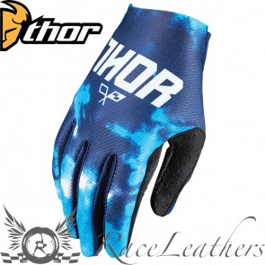 Thor Void Youth Gloves S17 Tydy Blues