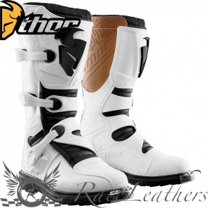 Thor Blitz Youth Boot S15 White
