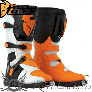 Thor Blitz Youth Boot S16 White / Orange