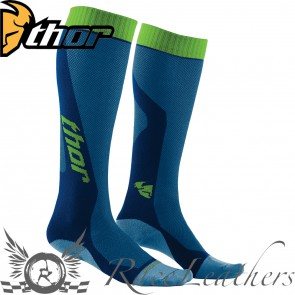 Thor Mx Cool Socks S16 Youth Blue / Green