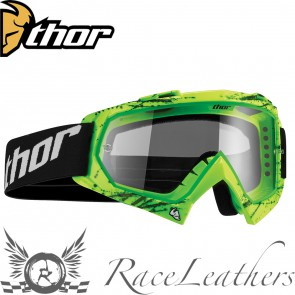 Thor Enemy Youth Goggles Splatter Green