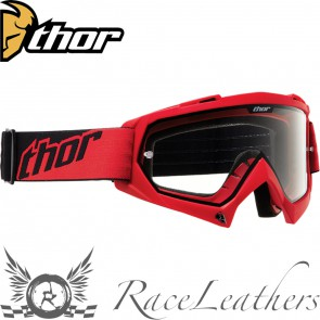 Thor Enemy Youth Goggles Red