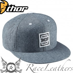 Thor Crew Snap-Back Blue-Chambray One-Size