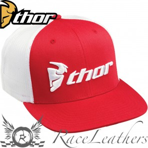 Thor Trucker Snap-Back Hat Red