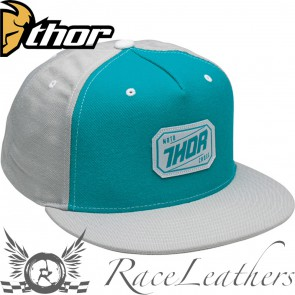 Thor Hux Snap-Back Hat Grey Teal