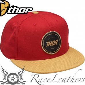 Thor Winners Circle Snap-Back Hat Red / Curry