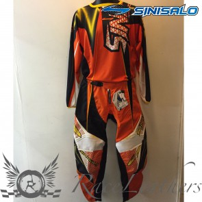 Sinisalo Orange MX Trouser Jersey Set