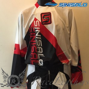 Sinisalo Kids Red Electrick MX Jersey