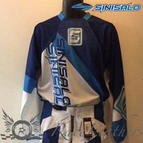 Sinisalo Kids Blue Electrick MX Jersey S