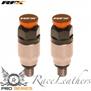 RFX Orange Silver Fork Bleeders