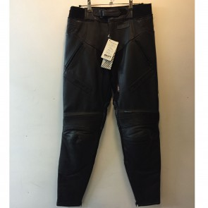 Akito Swift Omega Leather Trousers 36