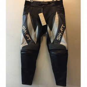 Swift Viper Leather Trousers Black Gun