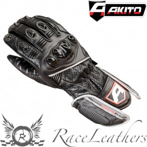 Akito Sports Rider Gloves Black/Silver