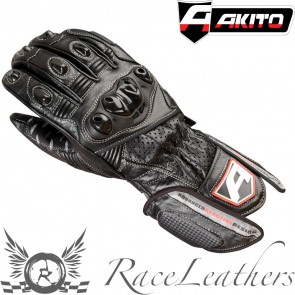 Akito Sports Rider Gloves Black