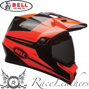 Bell MX 9 Adventure MIPS Stryker Flo Orange