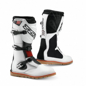 TCX Terrain 2 Off Road Motorcycle Trials Boots White