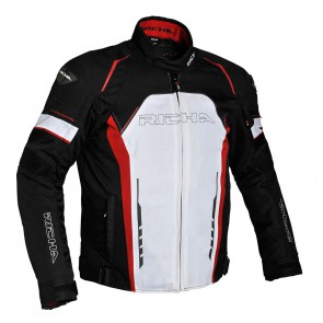 Richa Falcon Jacket Blk/White/Red S