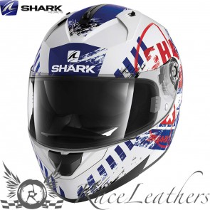 Shark Ridill Skyd White Red Blue