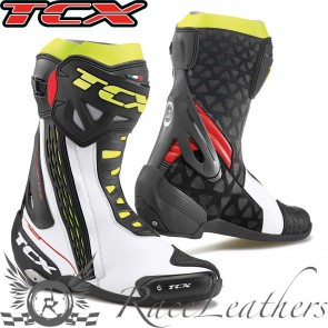 TCX RT-Race White Red Yellow Fluo