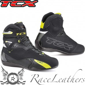 TCX Rush WP Black Yellow Fluo