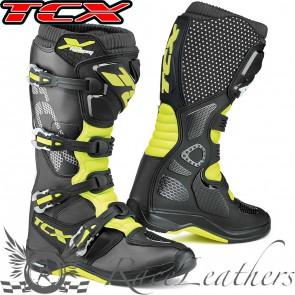 TCX X-Helium Michelin Black Yellow Fluo