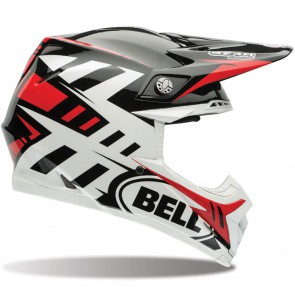 Bell MX Moto-9 Flex Helmet Syndrome Red XSmall