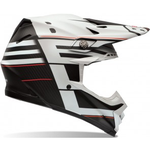 Bell MX Moto-9 Flex Helmet Blocked Black XSmall