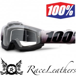 100% Goggles Accuri Invaders Clear Lens