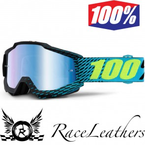 100% Goggles Accuri R-Core Mirror Blue Lens