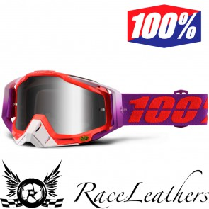 100% Goggles Racecraft Watermelon Mirror Silver Lens