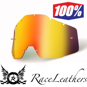 100% Accuri Youth Lens Red Mirror