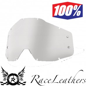 100% Forecast Replacement Lens Clear No Bumps