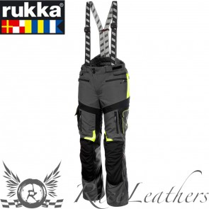Rukka Orivesi Trousers Grey Yellow