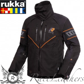 Rukka Nivala Jacket Black Orange