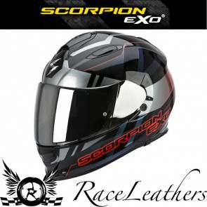 Scorpion EXO 510 Stage Black Silver Red