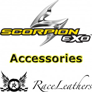 Scorpion EXO1000 500 490 Visor Light Smoke