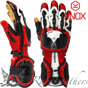 Knox Handroid Gloves Red M