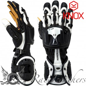 Knox Handroid Gloves Black White S