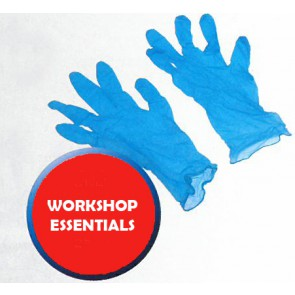 NITRILE BLUE GLOVES POWDER FREE MEDIUM BOX-100 [NG201FM]