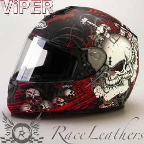 Viper RS250 Morte Red Matt