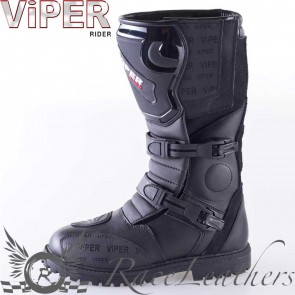 Viper Rider 1056 Adventure Boot Black