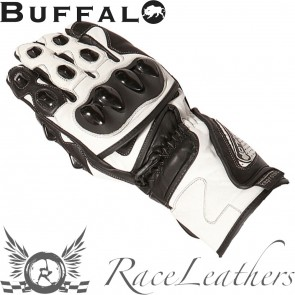 Buffalo BR30 Black White Gloves