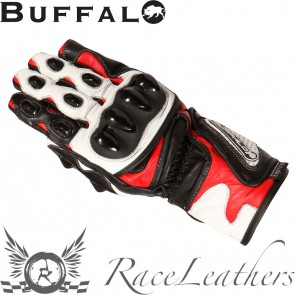 Buffalo BR30 Black Red Gloves