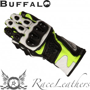 Buffalo BR30 Black Neon Yellow Gloves