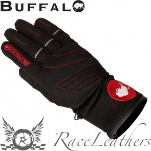 Buffalo Siena Ladies Black Red Gloves