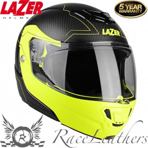 Lazer Carbon Monaco Evo Droid Matt Black Fluo Yellow