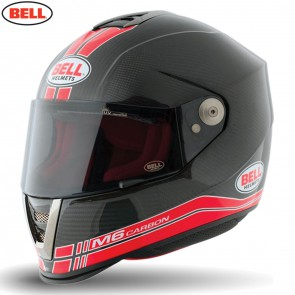 Bell 2014 Street Helmet (Adult) M6 Carbon Race Red Size XSmall
