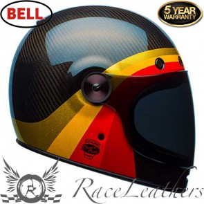 Bell Bullitt Carbon Chemical Candy Black Gold